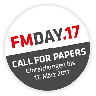 FM-Day 2017 Call for Papers 2017, Einreichungen bis 17. 3.
