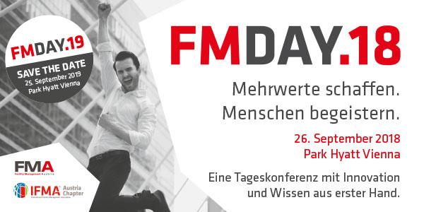 FM-Day - Save the date 25. September 2019 Park Hyatt Vienna